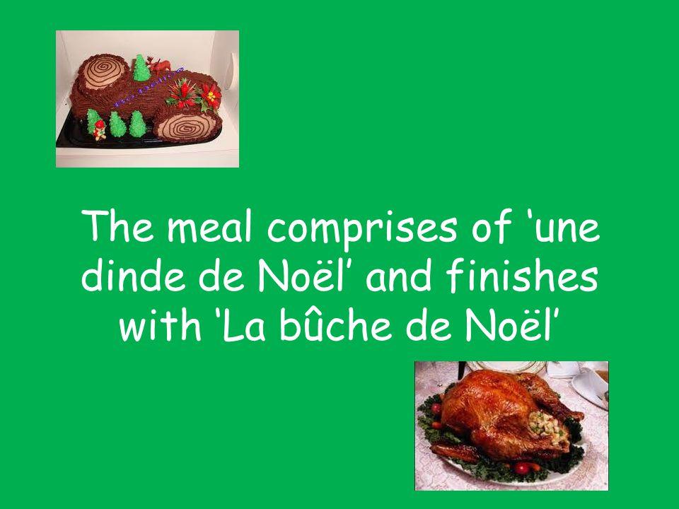 Other delicacies include : saumon fumé, foie gras, fruits de mer (huitres, ect.)