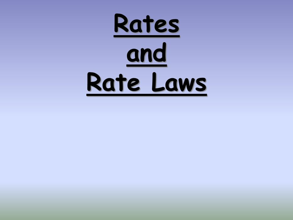 Solving an Integrated Rate Law Problem: Find the integrated rate law and the value for the rate constant, k A graphing calculator with linear regression analysis greatly simplifies this process!.