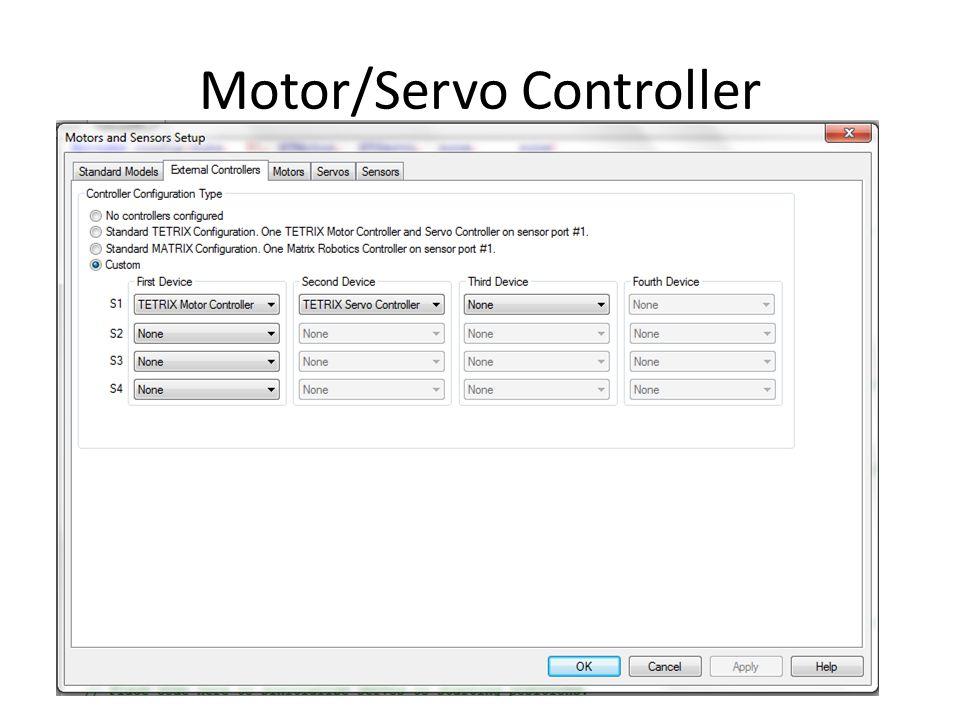 Motor/Servo Controller