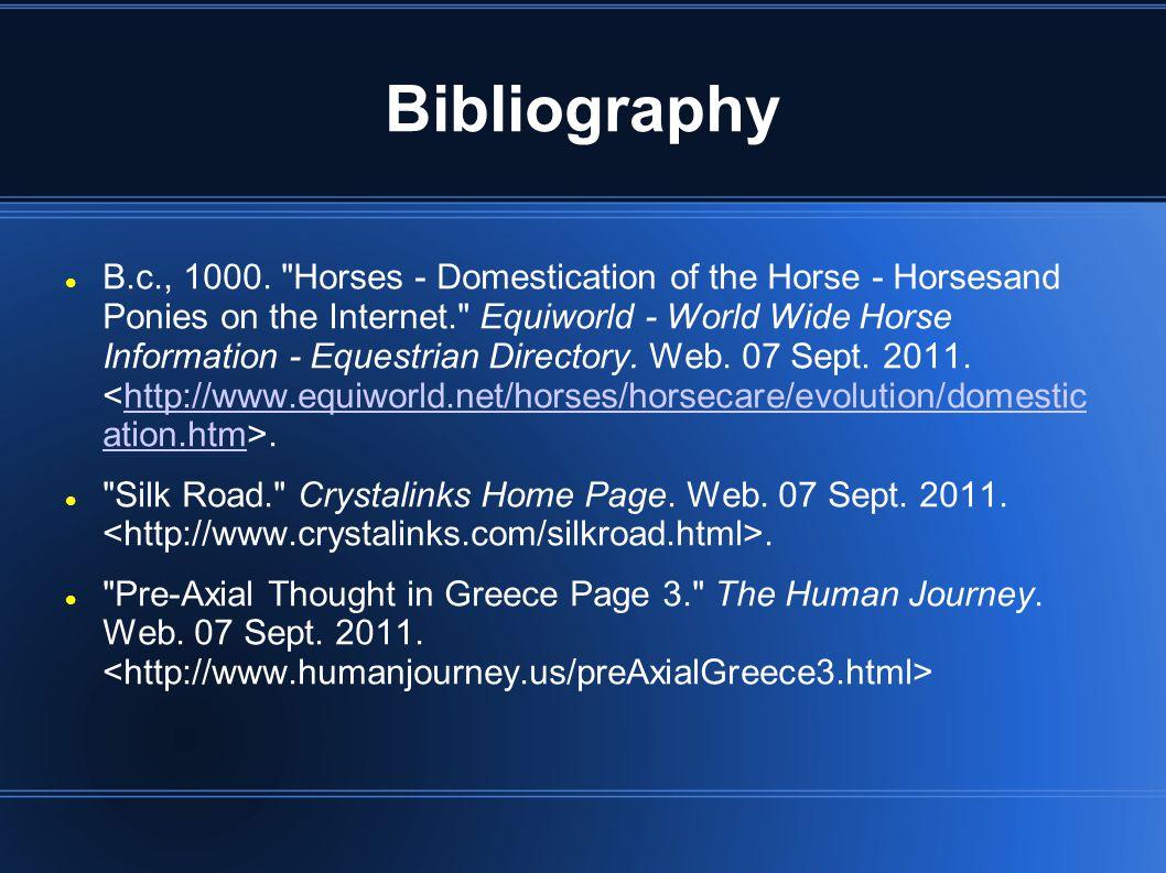 Bibliography B.c., 1000.