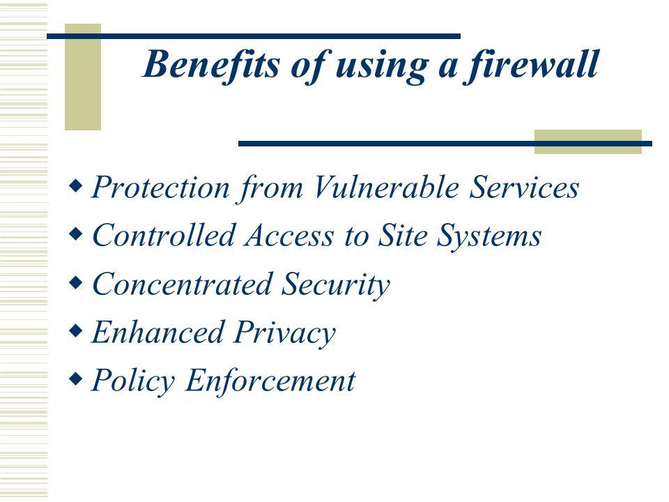 Firewall Products  CyberwallPlus-SV by Network-1 Security Solutions  ZoneAlarm Pro by Zone Labs  CyberArmor by InfoExpress  BlackIce Defender by Network Ice  VPN NetScreen-5 by NetScreen Technologies
