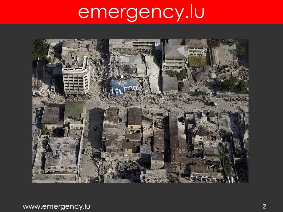 www.emergency.lu emergency.lu 13 DEPLOYMENTS IN SOUTH SUDAN (2012-2013) WFP compound