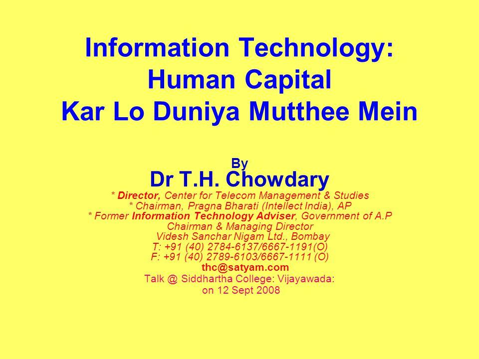 THC_CTMSS393_Sept 0812 India as base of R&D Foreign companies setting up Development centers in India Texas Instruments, Motorola, QUALCOM; HUAEI, ZTE, Microsoft, Alcatel, Siemens, Huawi Pharma companies too