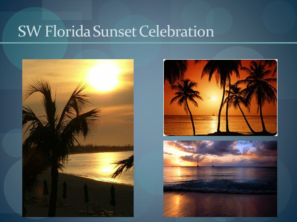 SW Florida Sunset Celebration