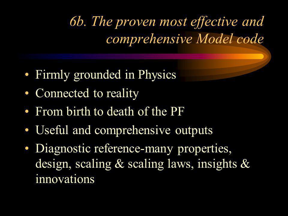 6a. The proven most effective 3 kJ PF system. The trolley based UNU/ICTP PFF 3 kJ plasma focus training and research system will be updated as a 1 kJ