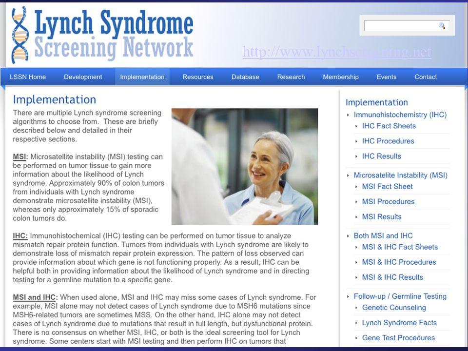 http://www.lynchscreening.net