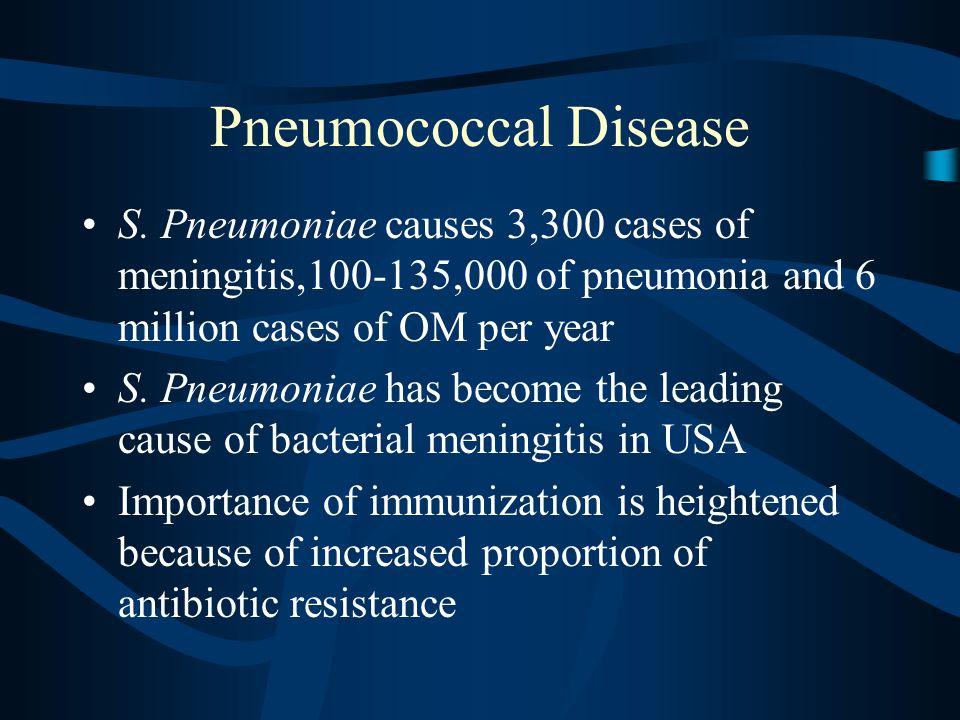 Pneumococcal Disease S.