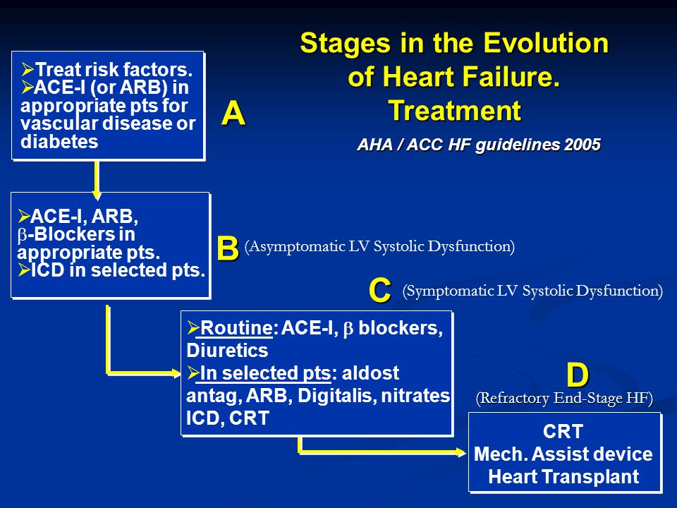  ACE-I, ARB,  -Blockers in appropriate pts.  ICD in selected pts.  Treat risk factors.  ACE-I (or ARB) in appropriate pts for vascular disease or