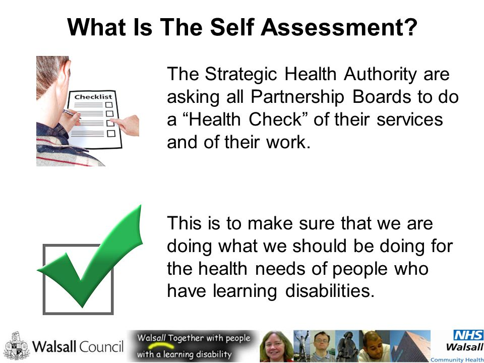 What Is The Self Assessment.