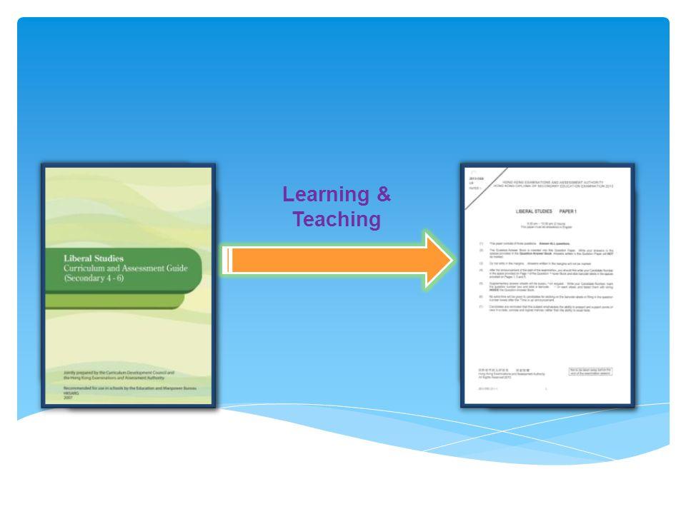 Liberal Studies Curriculum & Assessment Resource Package, p. 43