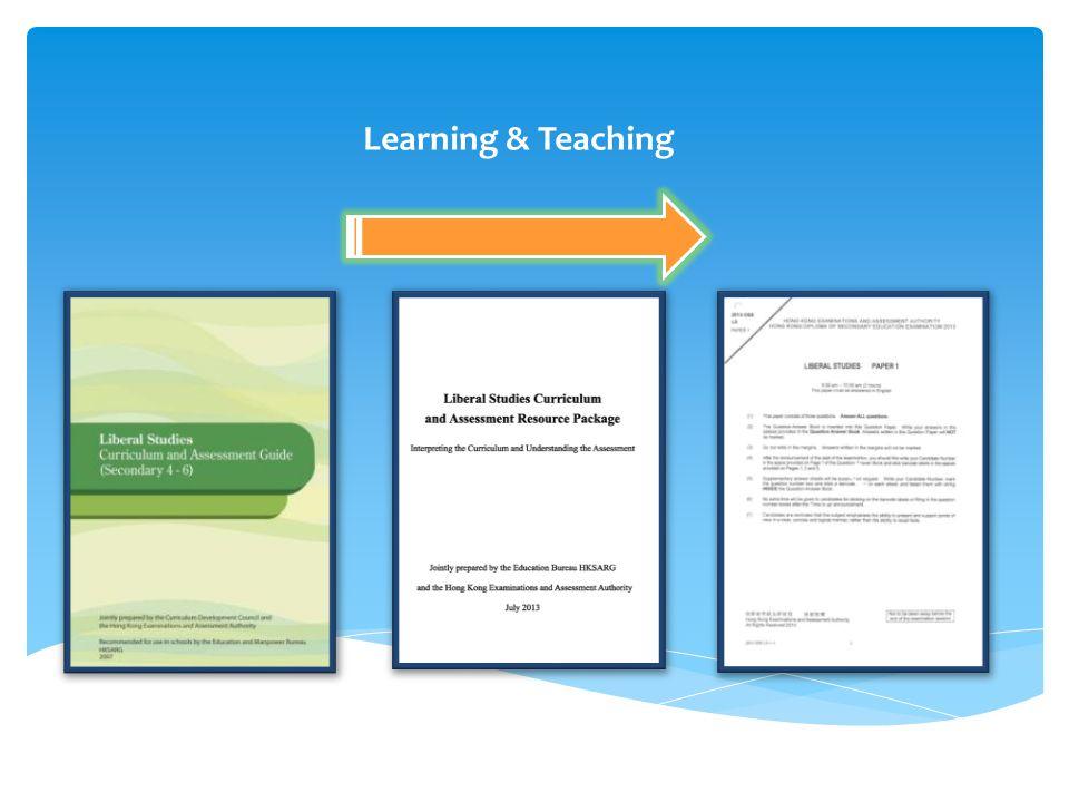 40 Liberal Studies Curriculum & Assessment Resource Package, p. 41