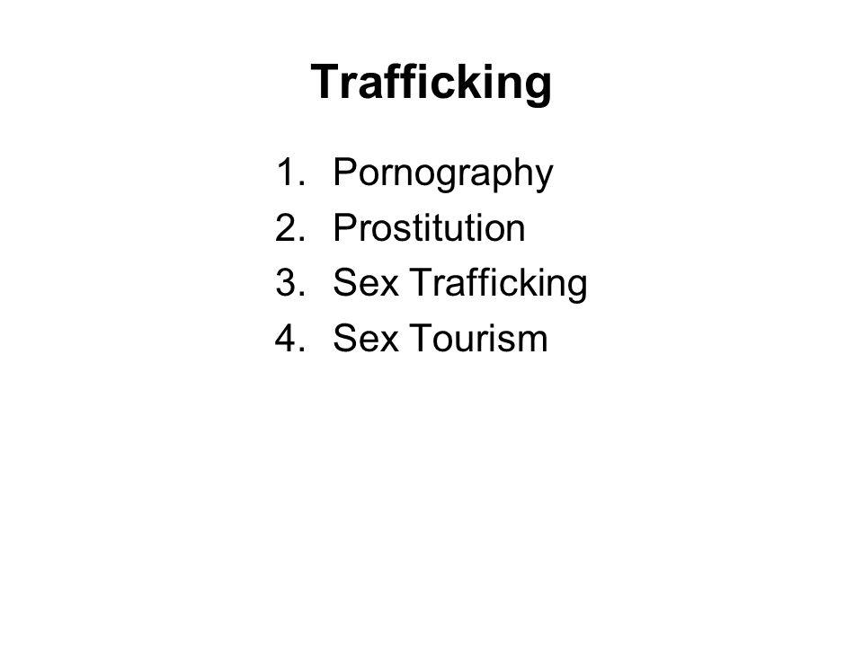 Trafficking 1.Pornography 2.Prostitution 3.Sex Trafficking 4.Sex Tourism