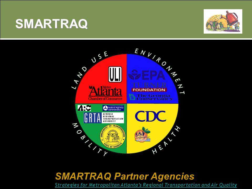 SMARTRAQ SMARTRAQ Partner Agencies Strategies for Metropolitan Atlanta's Regional Transportation and Air Quality