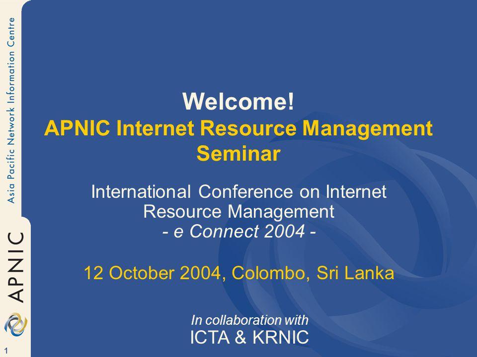 122 IPv6 Allocations in Asia Pacific 2003 (cumulative total) JP64 KR18 TW13 CN9 AU6 SG5 HK2 MY3 PG1 TH3 IN1 PH1 ID3 NZ1 Total130