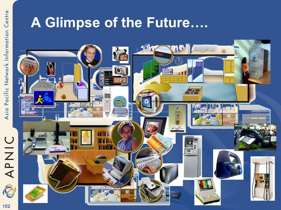102 A Glimpse of the Future….