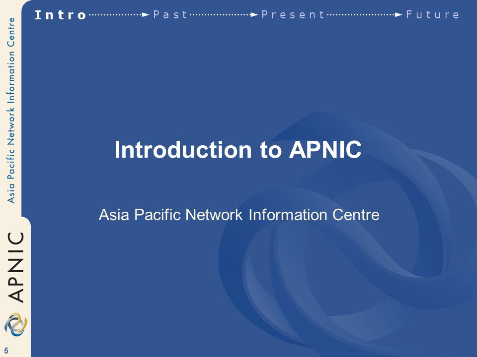 76 APNIC Policies Based on global Internet registry policies Other RIR policies (developed since) Minimum practical allocation: /21 Slow Start policy for new members Allocations are portable Provider responsible for aggregation Customer assignments must be non-portable http://www.apnic.net/docs/policy/add-manage-policy.html