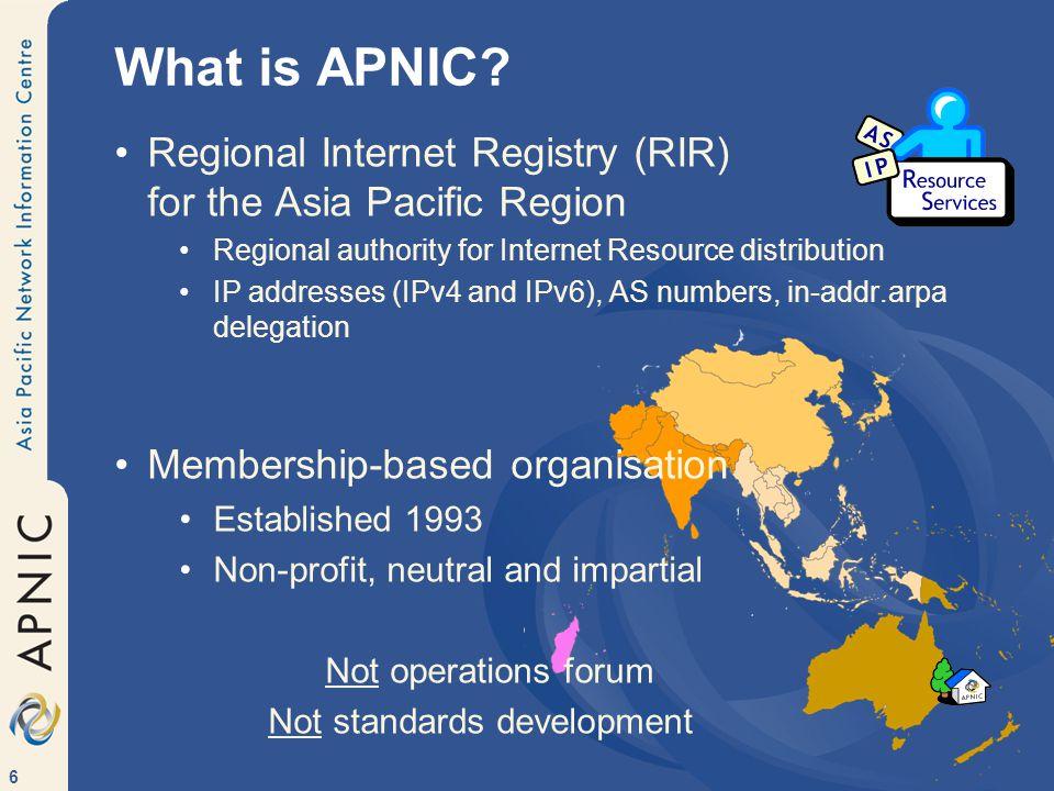 107 IPv6 - Internet for everything! R R R R R