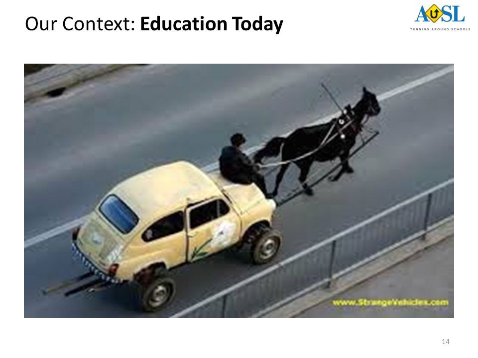 14 Our Context: Education Today