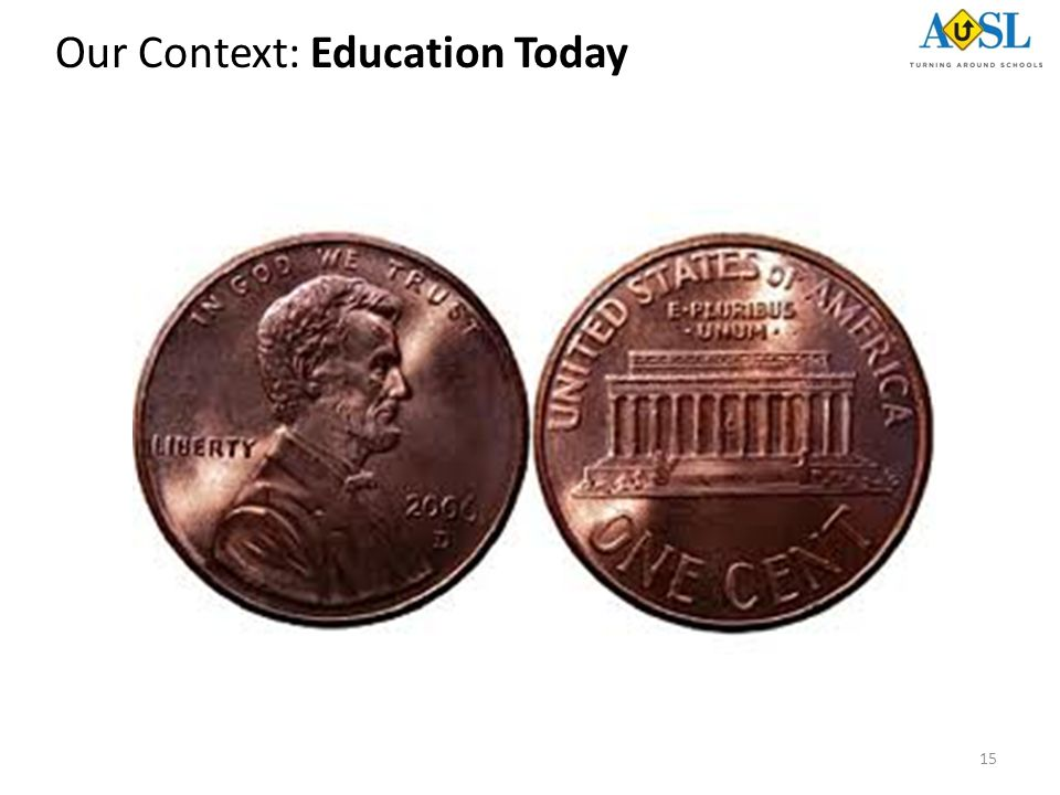 15 Our Context: Education Today