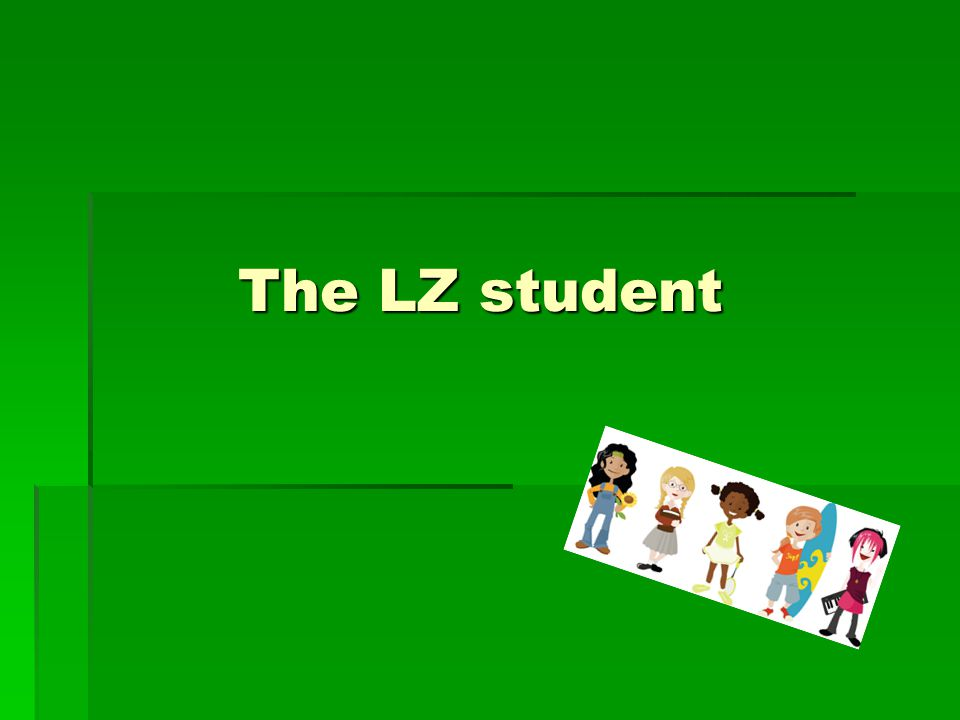 The LZ student