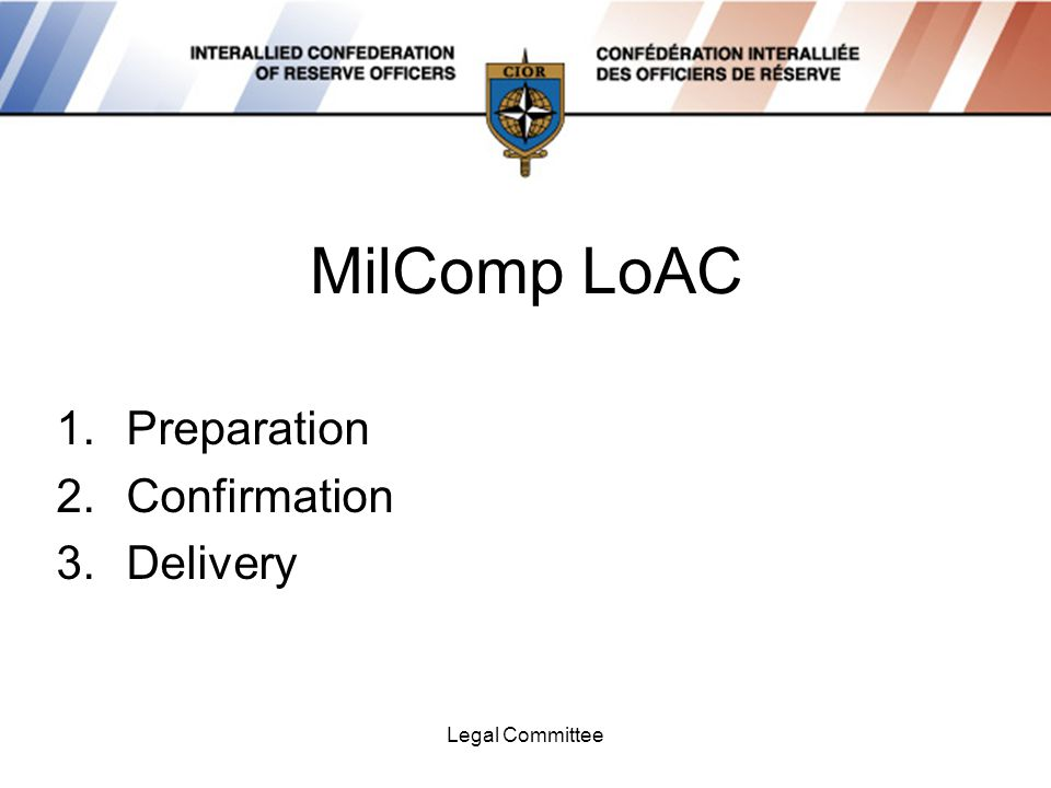 Legal Committee MilComp Results Waiting 1300h – 1600h Testing 1600h – 1800h 4 Sessions 43 Teams
