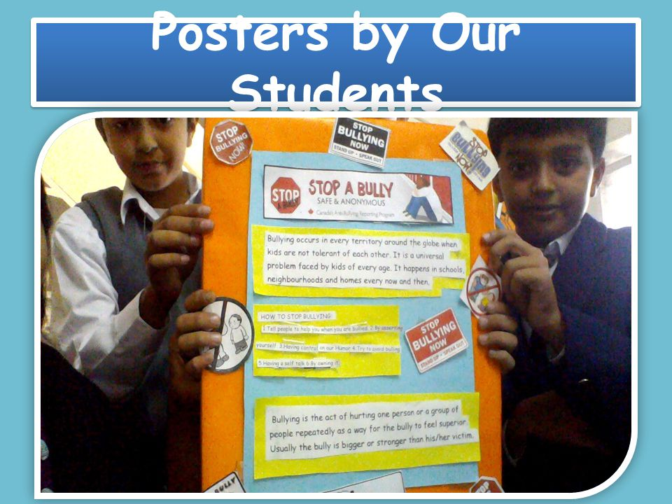 Posters by Our Students