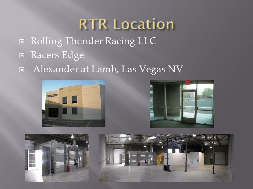  Rolling Thunder Racing LLC  Racers Edge  Alexander at Lamb, Las Vegas NV