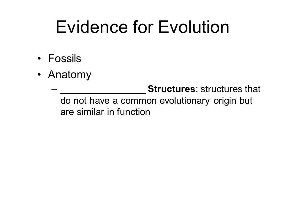 Analogous Structures