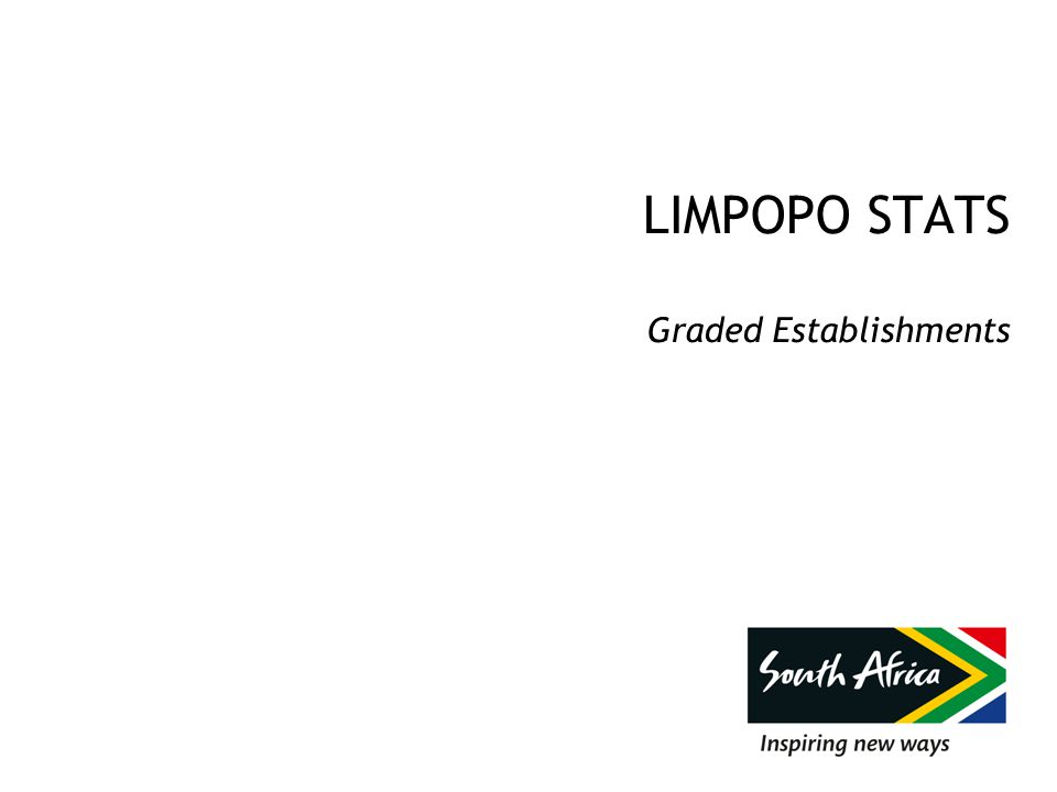 LIMPOPO STATS Graded Establishments