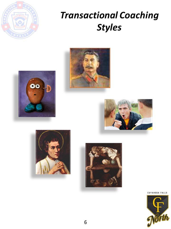 Transactional Coaching Styles 6
