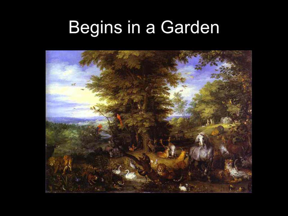 Begins in a Garden