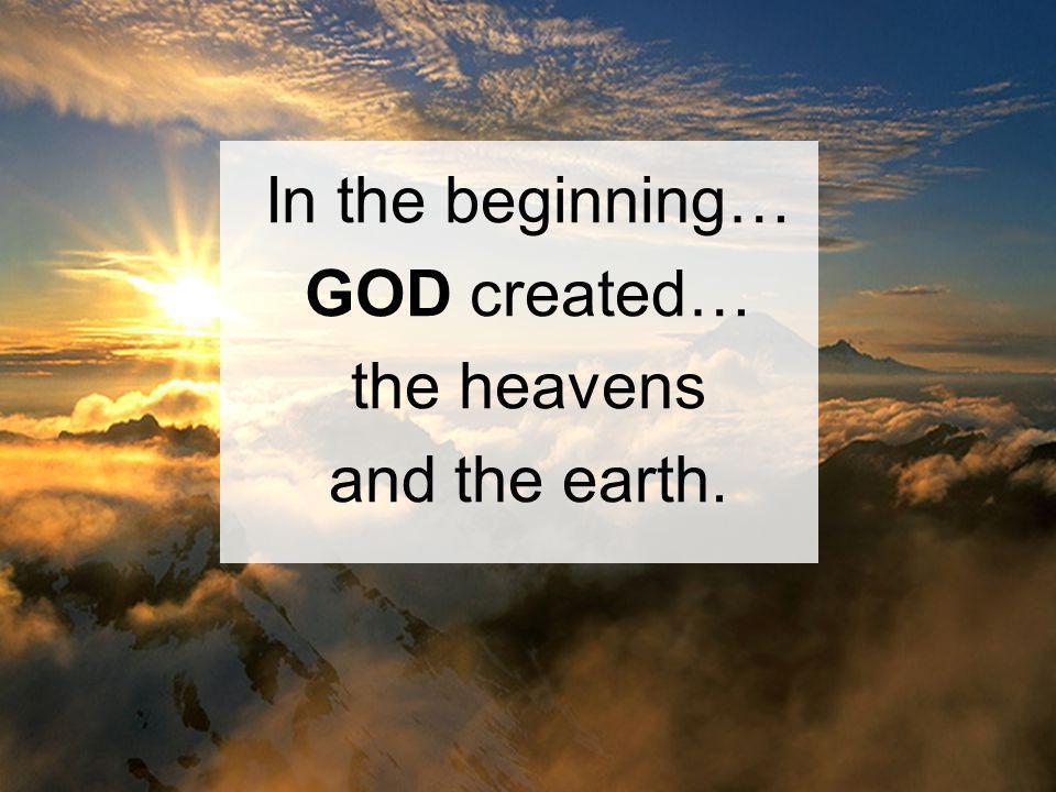 Illumination Read Genesis 1: 3-5, 14-19 and Rev.
