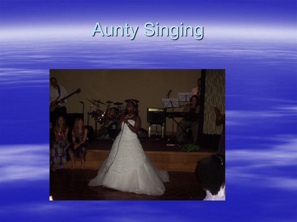 Aunty Singing