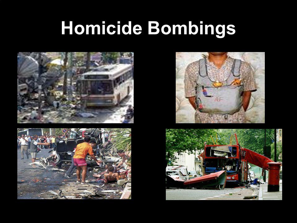 Homicide Bombings