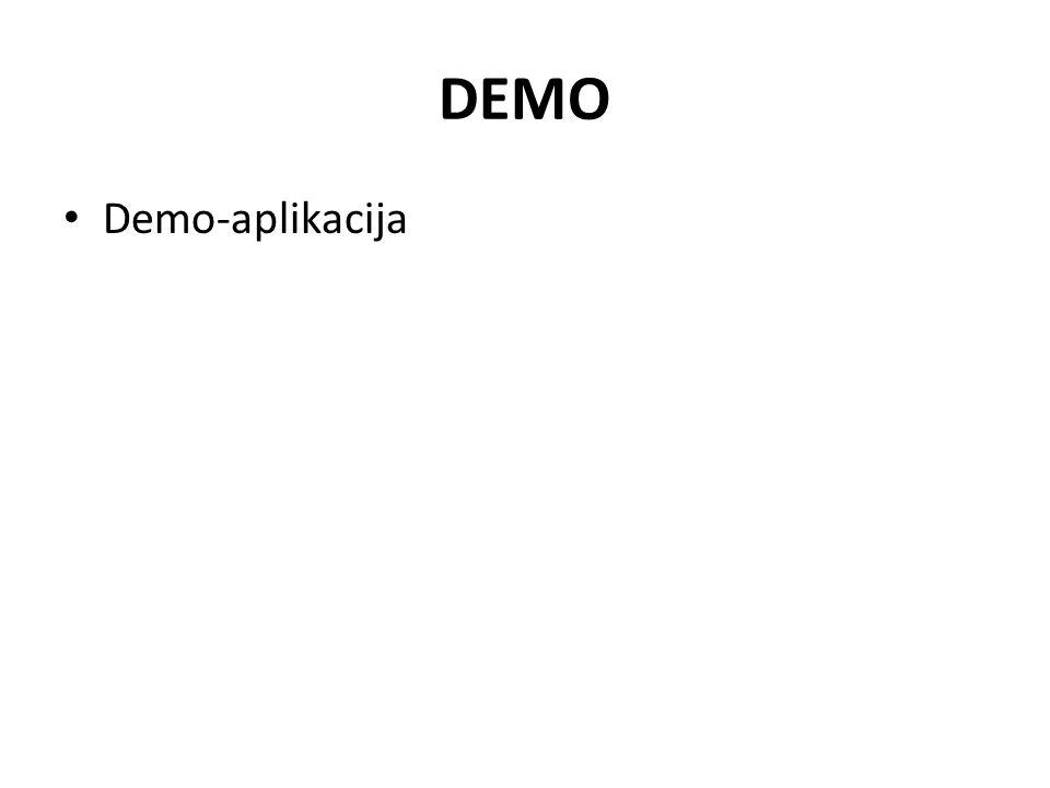 DEMO Demo-aplikacija