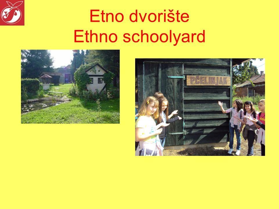 Etno dvorište Ethno schoolyard