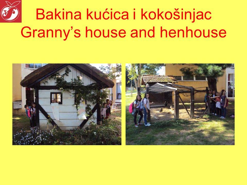 Bakina kućica i kokošinjac Granny's house and henhouse