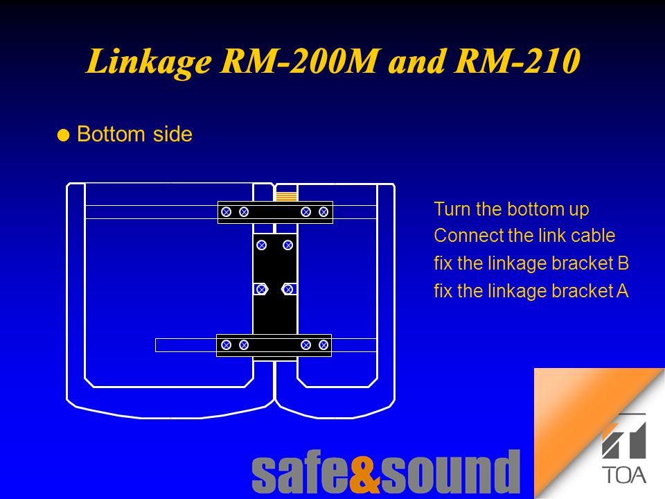 Background Design: Torsten Kranz Design: Torsten Kranz @ TEE  l Bottom side Turn the bottom up Connect the link cable fix the linkage bracket B fix the linkage bracket A