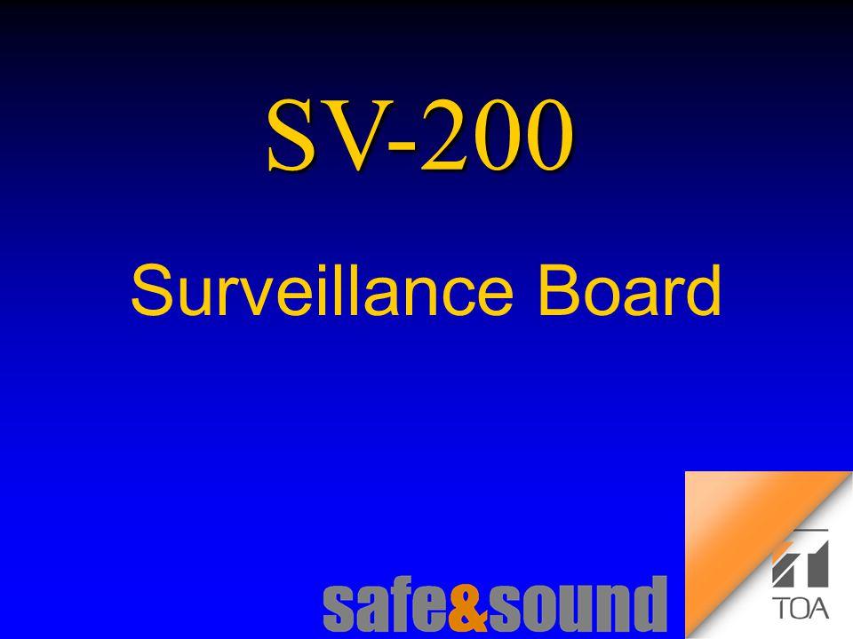Background Design: Torsten Kranz Design: Torsten Kranz @ TEE SV-200 Surveillance Board