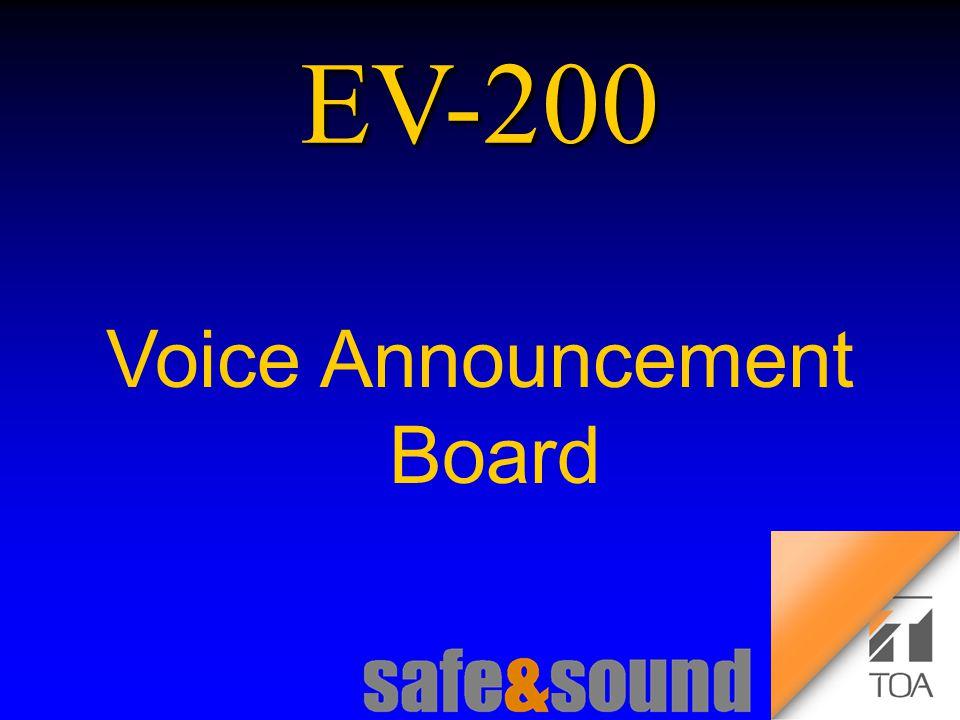 Background Design: Torsten Kranz Design: Torsten Kranz @ TEE EV-200 Voice Announcement Board