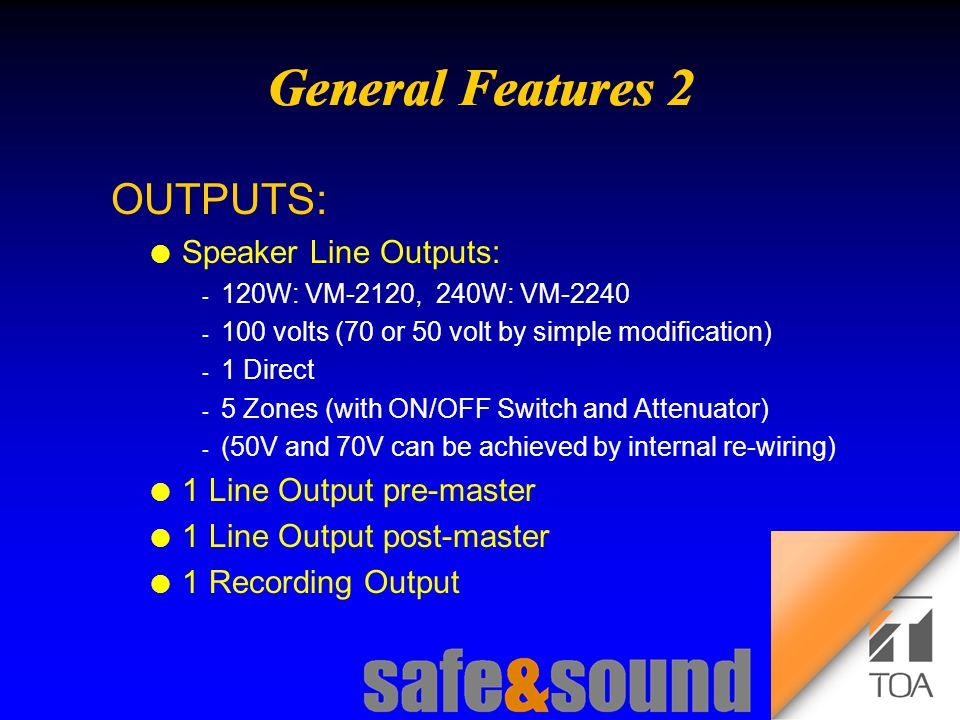 Background Design: Torsten Kranz Design: Torsten Kranz @ TEE  3 Line Level Outputs l Recording Output pre-master, for recording independent of master volume, level: 0 dBV l Line Output pre-master, for connecting additional amplifiers without master volume control of VM, level: 0 dBV l Pre (amplifier) Output post-master, for connecting additional amplifiers with master volume control on VM, or to connect the slave VM, level: 0 dBV Rear