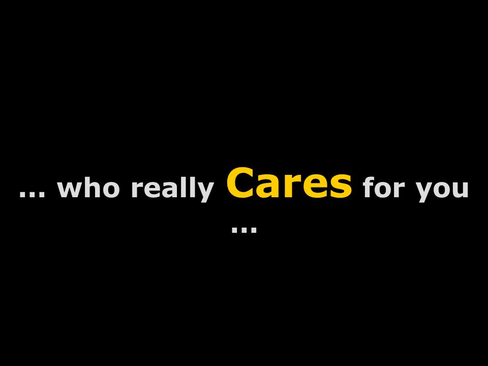 Vincent Lobo - www.lobodesignz.com... who really Cares for you...
