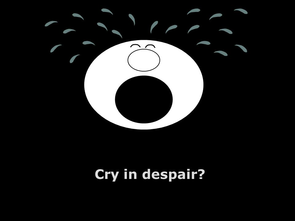 Vincent Lobo - www.lobodesignz.com Cry in despair