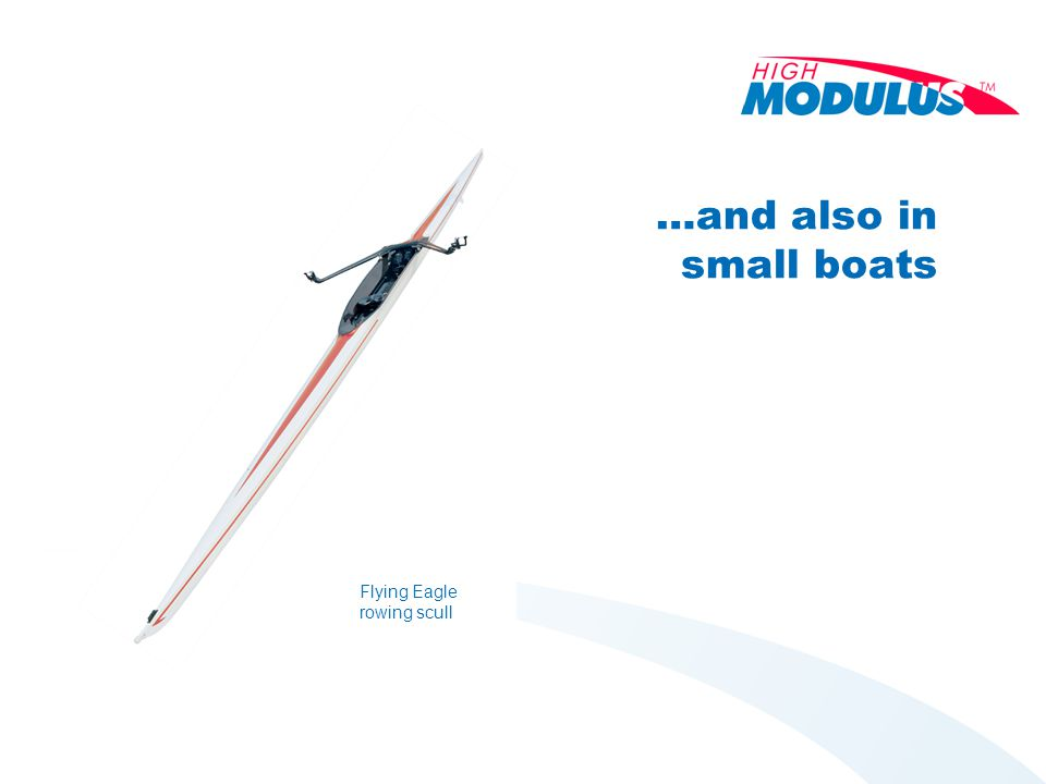 …and also in small boats Flying Eagle rowing scull
