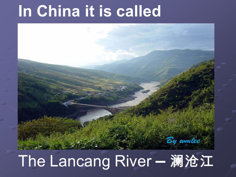 This is the famous river in Guangdong Province. The Pearl River