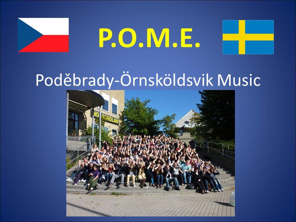 Poděbrady-Örnsköldsvik Music Express P.O.M.E.