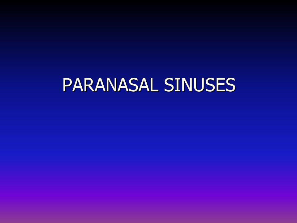ORBITAL COMPLICATIONS OF SINUSITIS Cavernous sinus thrombosis