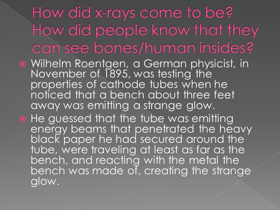  The energy to generate X-rays for medical imaging comes from high voltage.