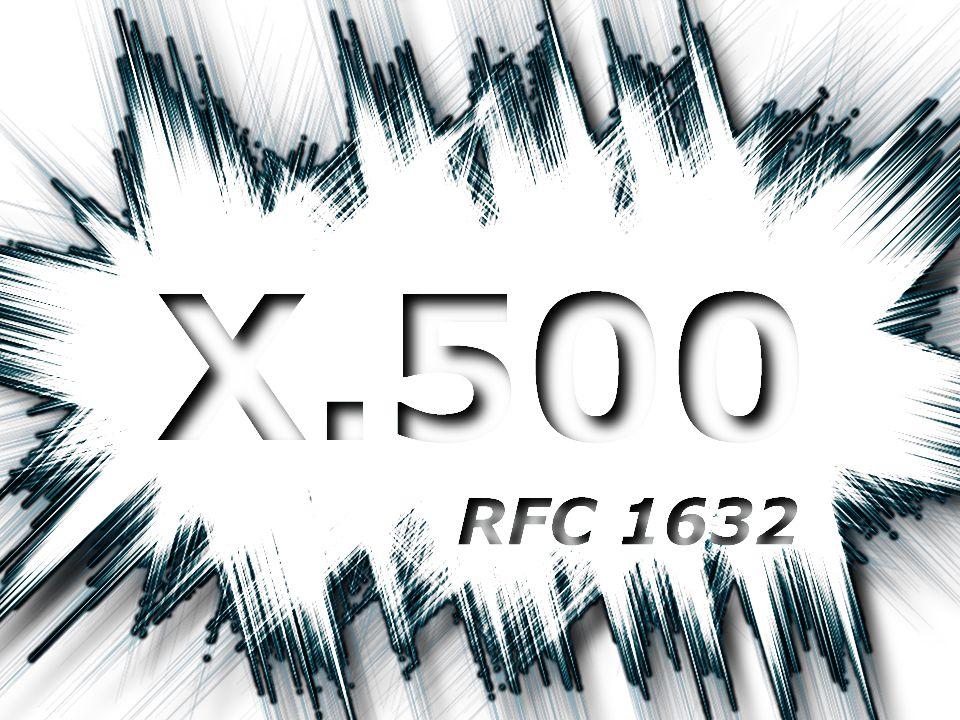 Directory Service X.500