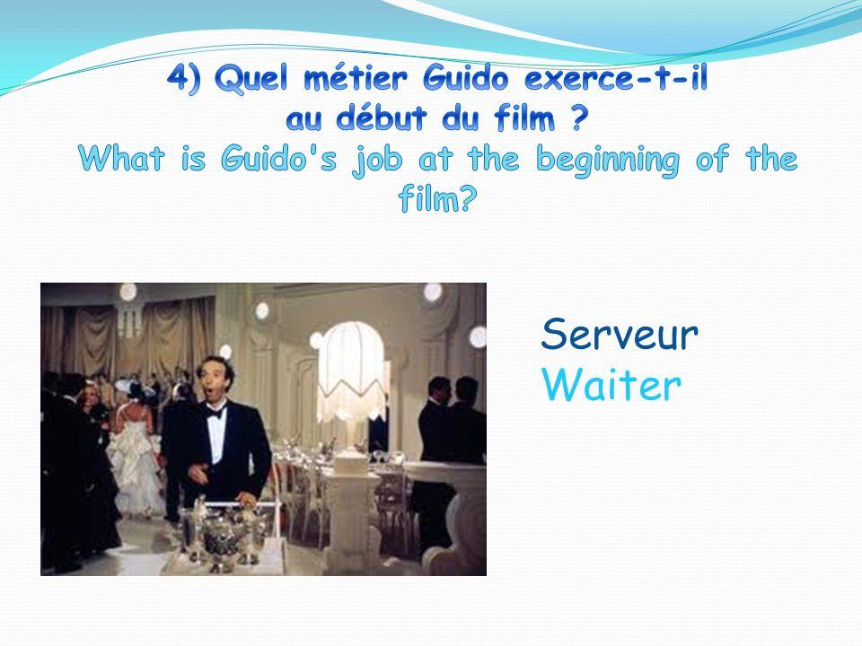 Serveur Waiter